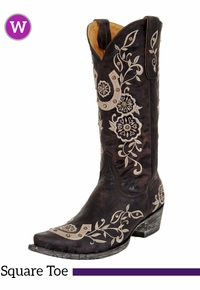 7.5B Women's Old Gringo Lucky Boots L515-4