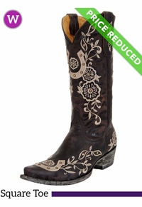 7.5B Women's Old Gringo Lucky Boots L515-4 CLEARANCE