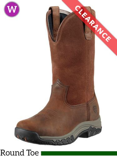 5.5B Women's Ariat Terrain H2O Pull On Boots 10011845, CLEARANCE