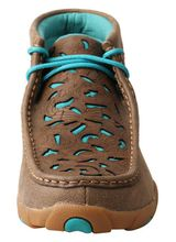 Women's Twisted X Bomber/Turquoise Chukka Driving Moccasins WDM0126