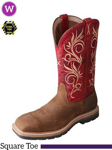 Women's Steel Toe Lite Western Work Boot WLCS003