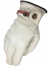 Work Gloves with Ball & Tab - Cowhide by HDX H2112248