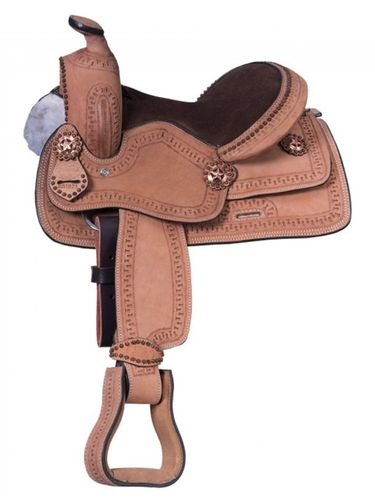 Youth Cowboy Roughout with Serpentine Tooling KS1822-31