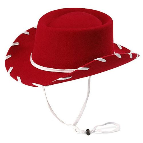 DISCONTINUED 2019/10/18  Youth Red Felt Cowboy Hat by M & F 7110604