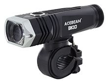 Acebeam BK10 Rechargeable LED Bike Light - CREE XHP35 HI - 2000 Lumens - Uses 1 x 21700 (included)