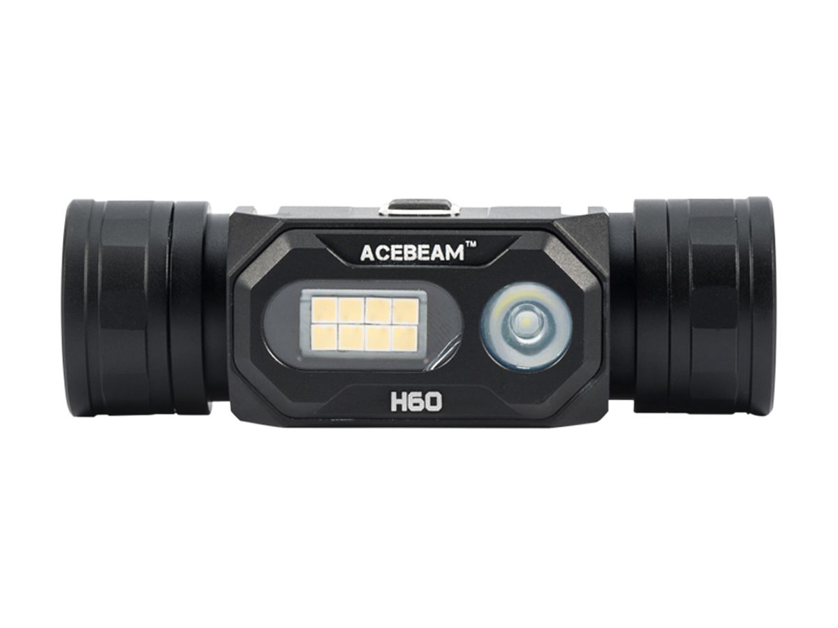 acebeam h60 headlamp without headstrap