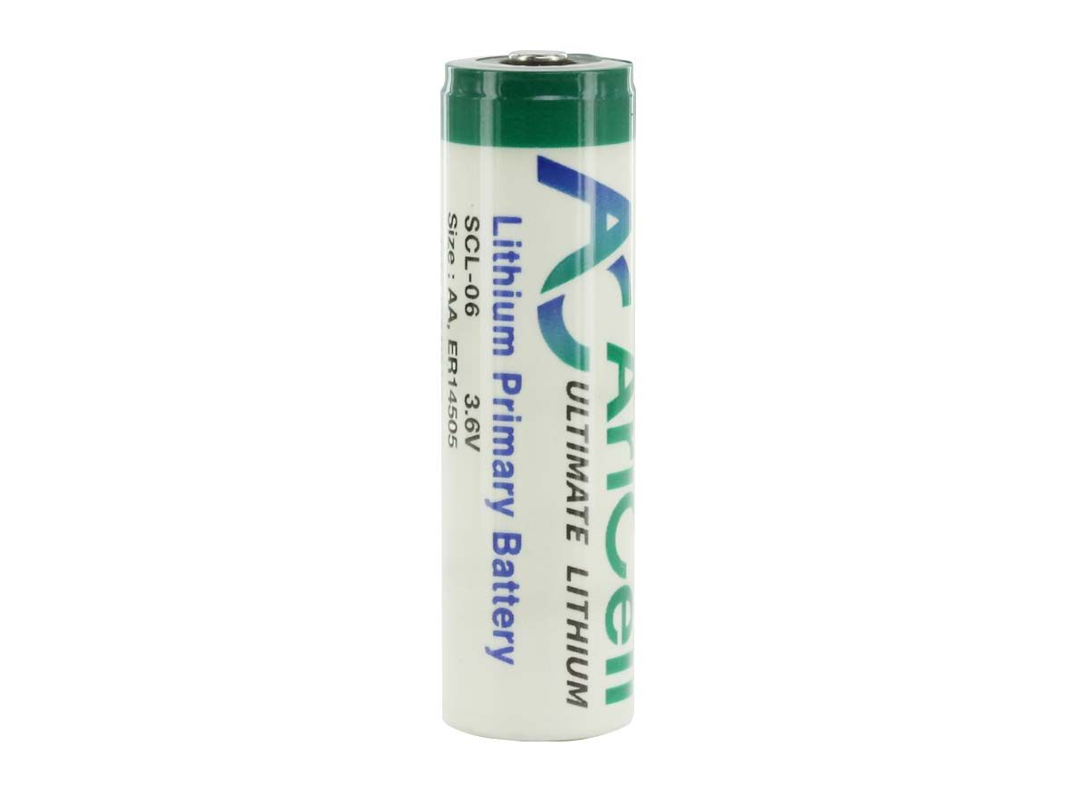 AriCell SCL-06 AA ER14505 Battery with Button Top Terminal