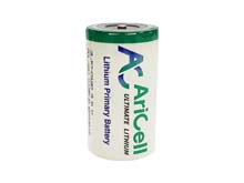 AriCell SCL-20 D-cell 19000mAh 3.6V Lithium Thionyl Chloride (LiSOCI2) Button Top - Bulk