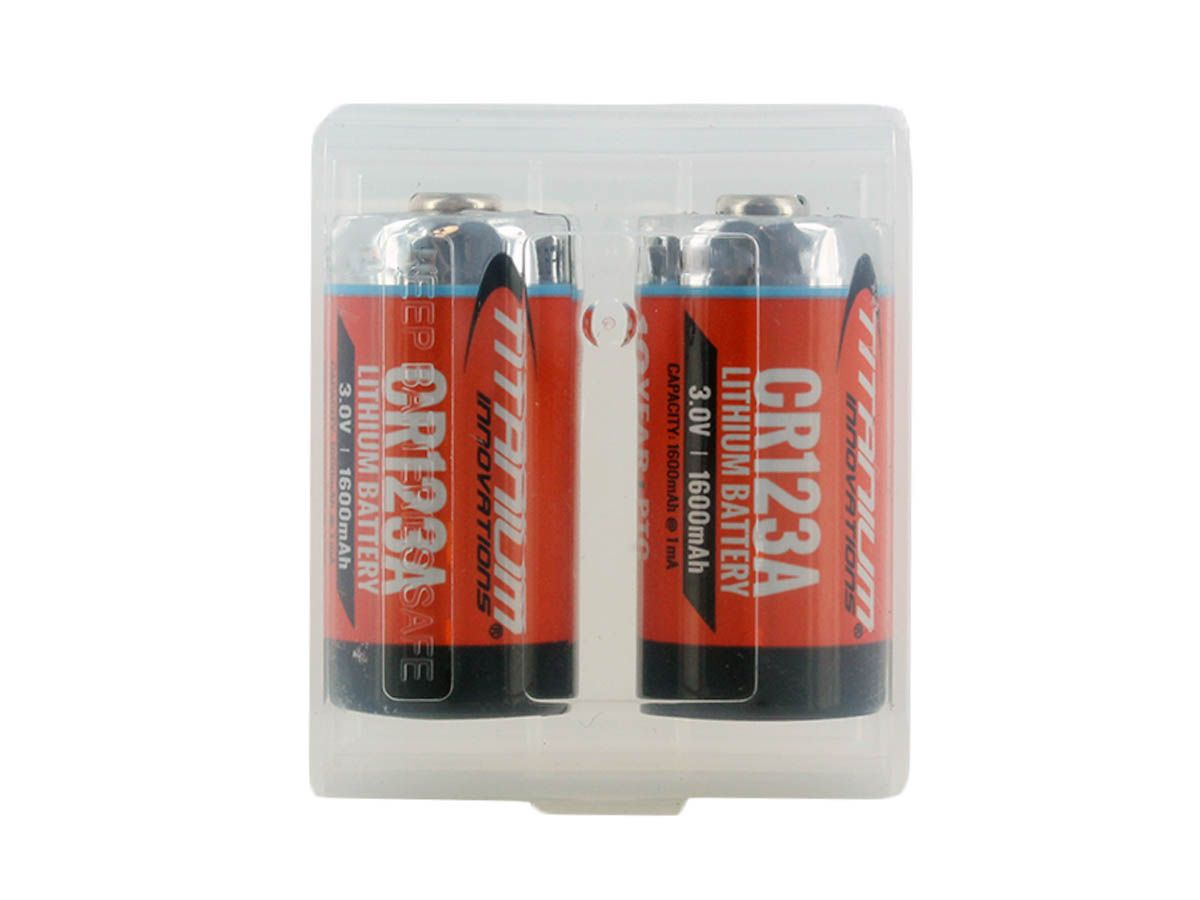 Case closed with batteries upright