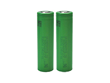 Murata VTC6 INR 18650 (formerly Sony) 3000mAh 3.7V High-Drain 30A Lithium Ion (Li-ion) Unprotected Flat Top Batteries - 2 Pieces