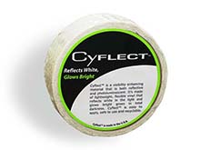 """Cyalume CyFlect Products 1"""" x 150' Honeycomb Tape (Sew-On or Adhesive) Roll"""