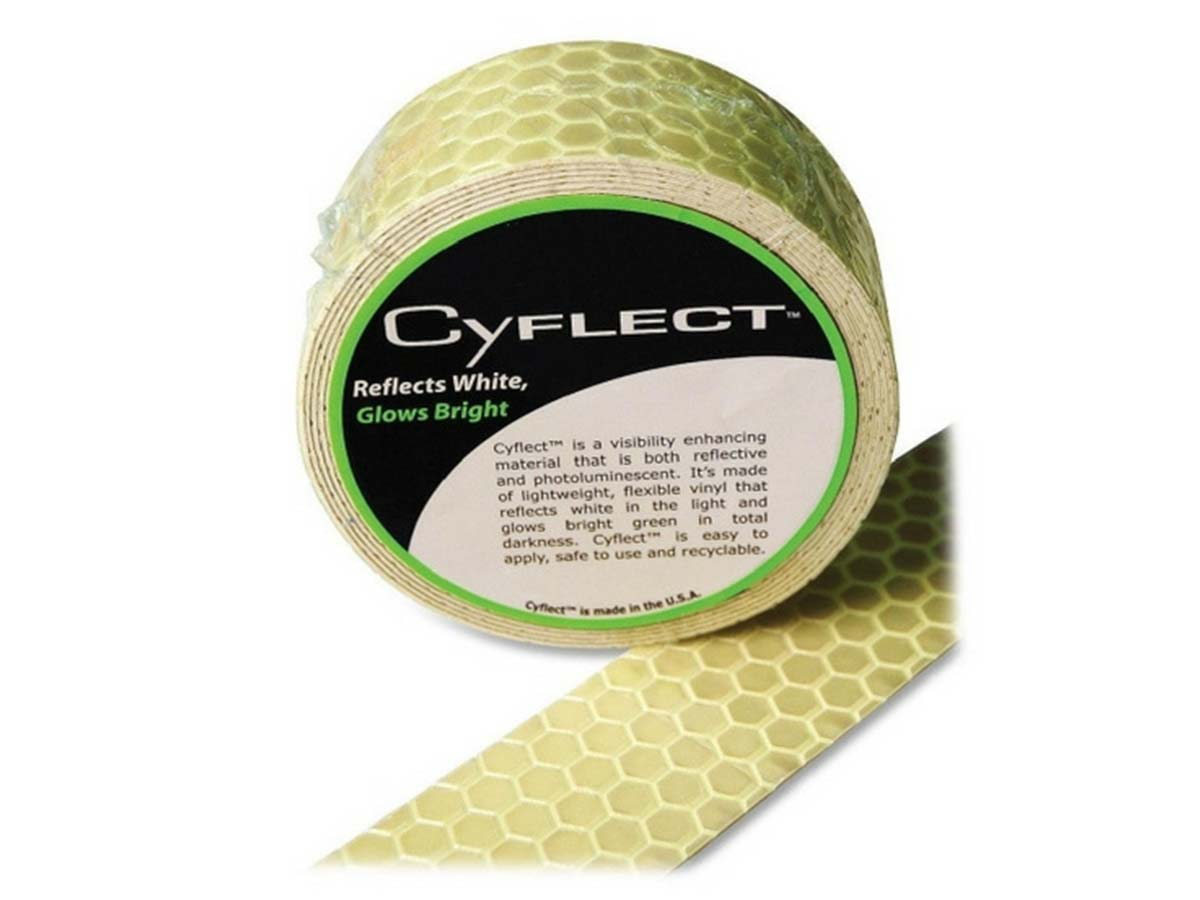 CyFlect Tape front with piece cut off