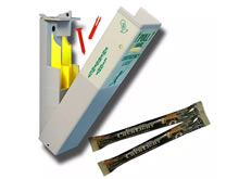 """Cyalume Emergency Lighting Systems - S.E.E. System - 10pk System with 22 pcs of 6"""" Yellow-HI ChemLights, Mounting Hardware and Tamper Pins - Yellow - 2 Hour"""