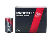 Duracell Procell Intense PX1400 (12PK) C-cell 1.5V Alkaline Button Top Batteries (PX1400BKD) - Contractor Pack of 12