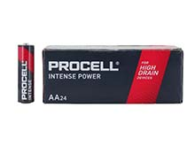 Duracell Procell Intense PX1500 (24PK) AA 1.5V Alkaline Button Top Batteries (PX1500BKD) - Contractor Pack of 24