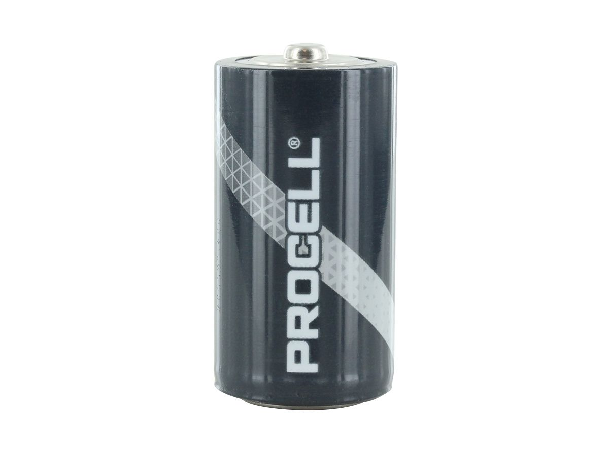 Duracell Procell C battery upright