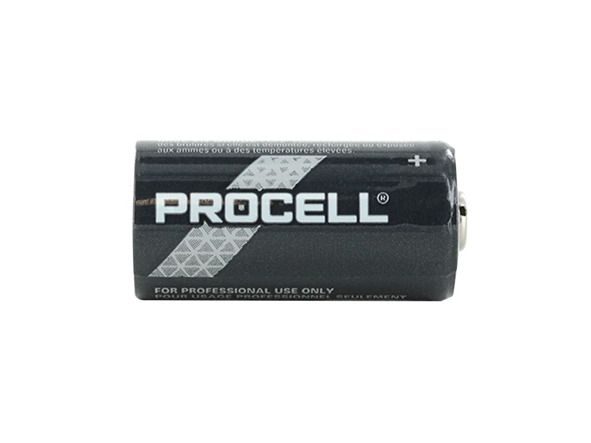 Duracell Procell CR123A horizontal