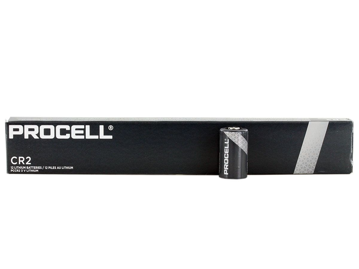 Duracell Procell CR2 upright with box