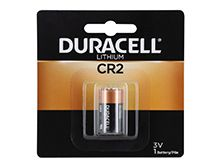 Duracell Ultra DL CR2 750mAh 3V Lithium (LiMNO2) Button Top Photo Battery (DLCR2BPK) - 1 Piece Retail Card