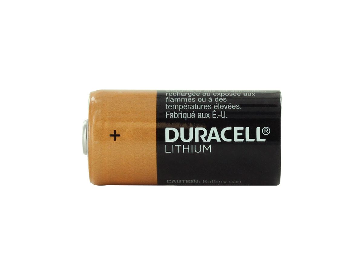 Duracell Ultra CR123A upright
