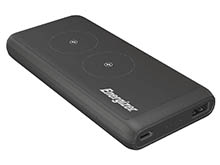 Energizer Qi Wireless 10000mAh Power Bank and Charging Station for iPhones and Androids (QE10006PQ)