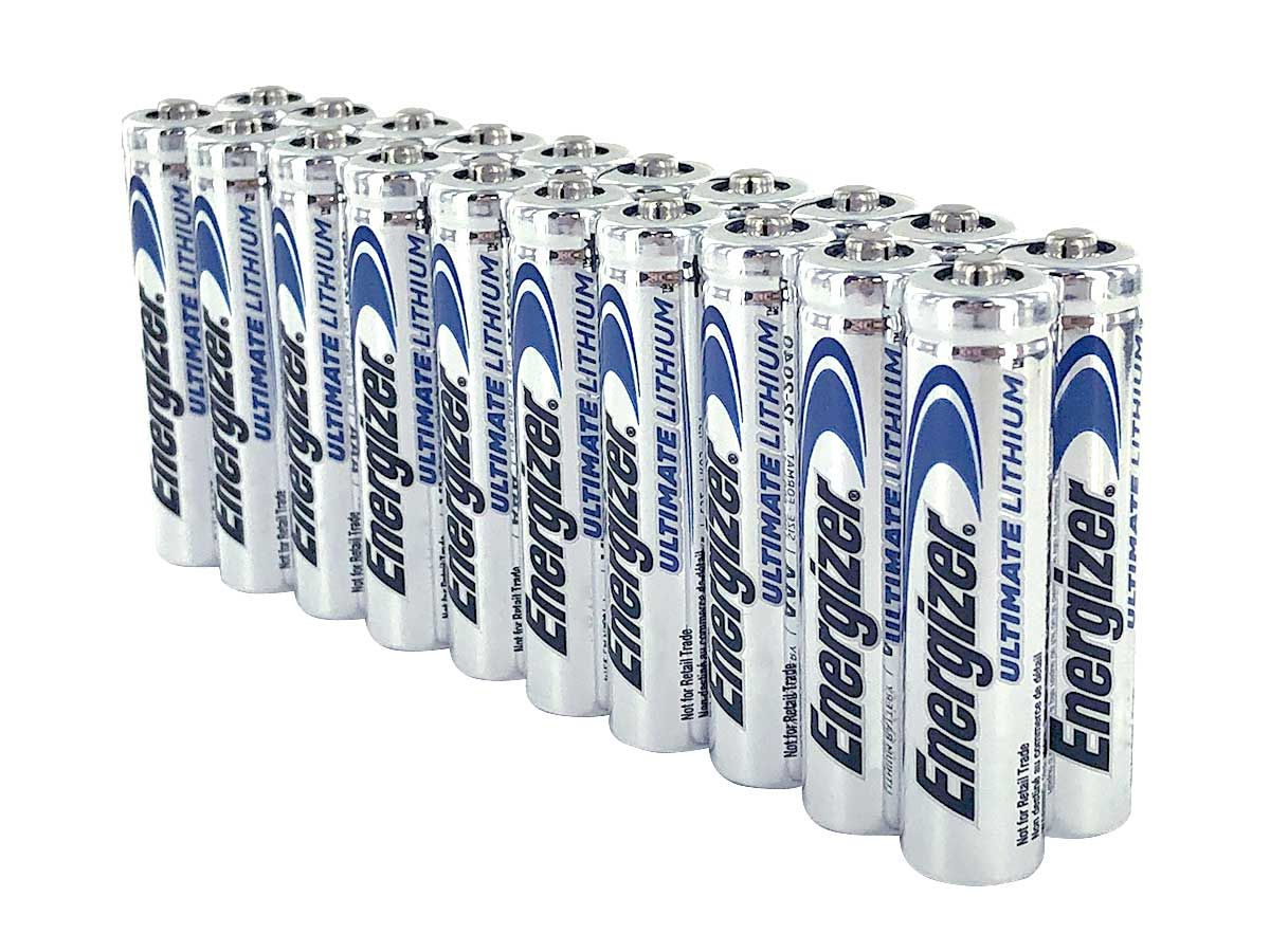 Energizer Ultimate Lithium Aaa Battery L92 Pack Of 20