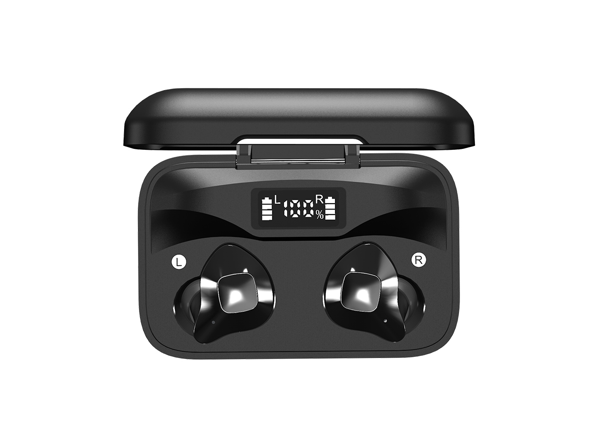 energizer ub2609 earbuds in case from above