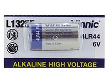 Exell Vinnic A28PX 28A 6V Alkaline Industrial Battery for Pet Collars, Headlamps, Cameras - Equivalent to 4LR44, PX28, 544 - Bulk