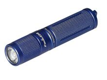 Fenix E05 (2014 Edition) Mini Everyday Carry Flashlight - CREE XP-E2 LED - 85 Lumens - Includes 1 x AAA - Blue