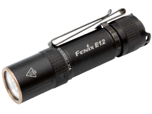 Fenix E12 V2 Compact Everyday Carry LED Flashlight - MATCH CA18 LED - 160 Lumens - Includes 1 x AA