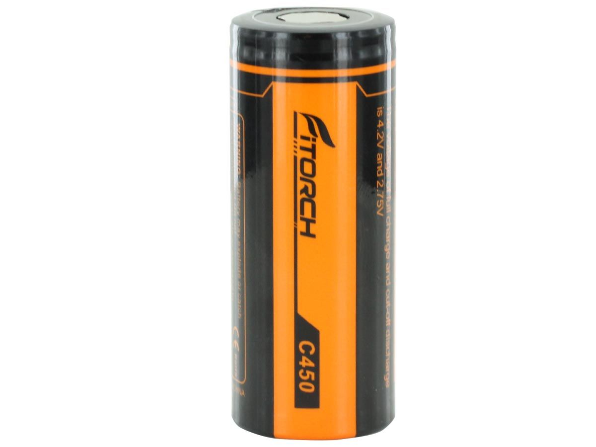 Fitorch C450 26650 Battery Vertical 1