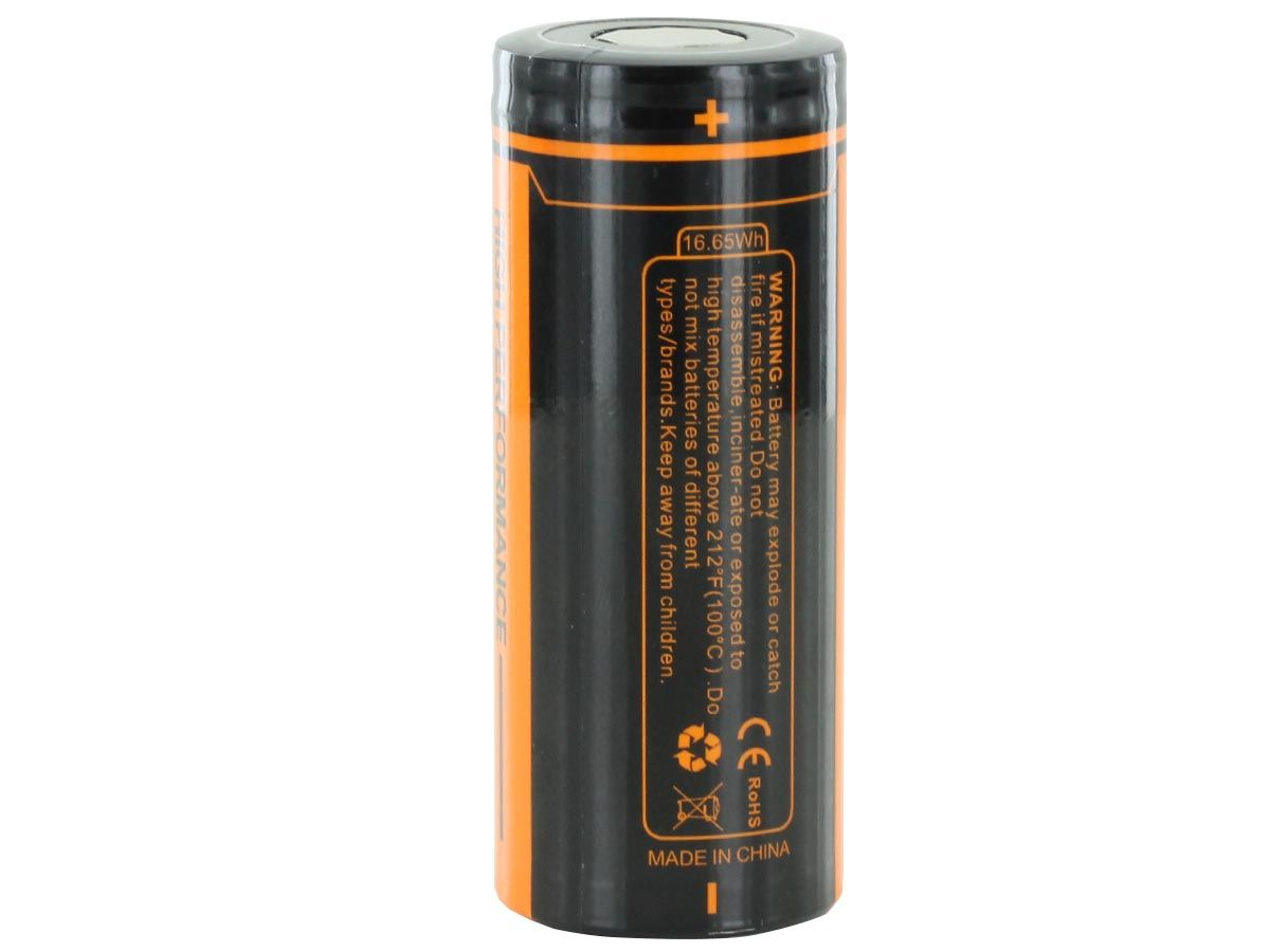 Fitorch C450 26650 Battery Vertical 2