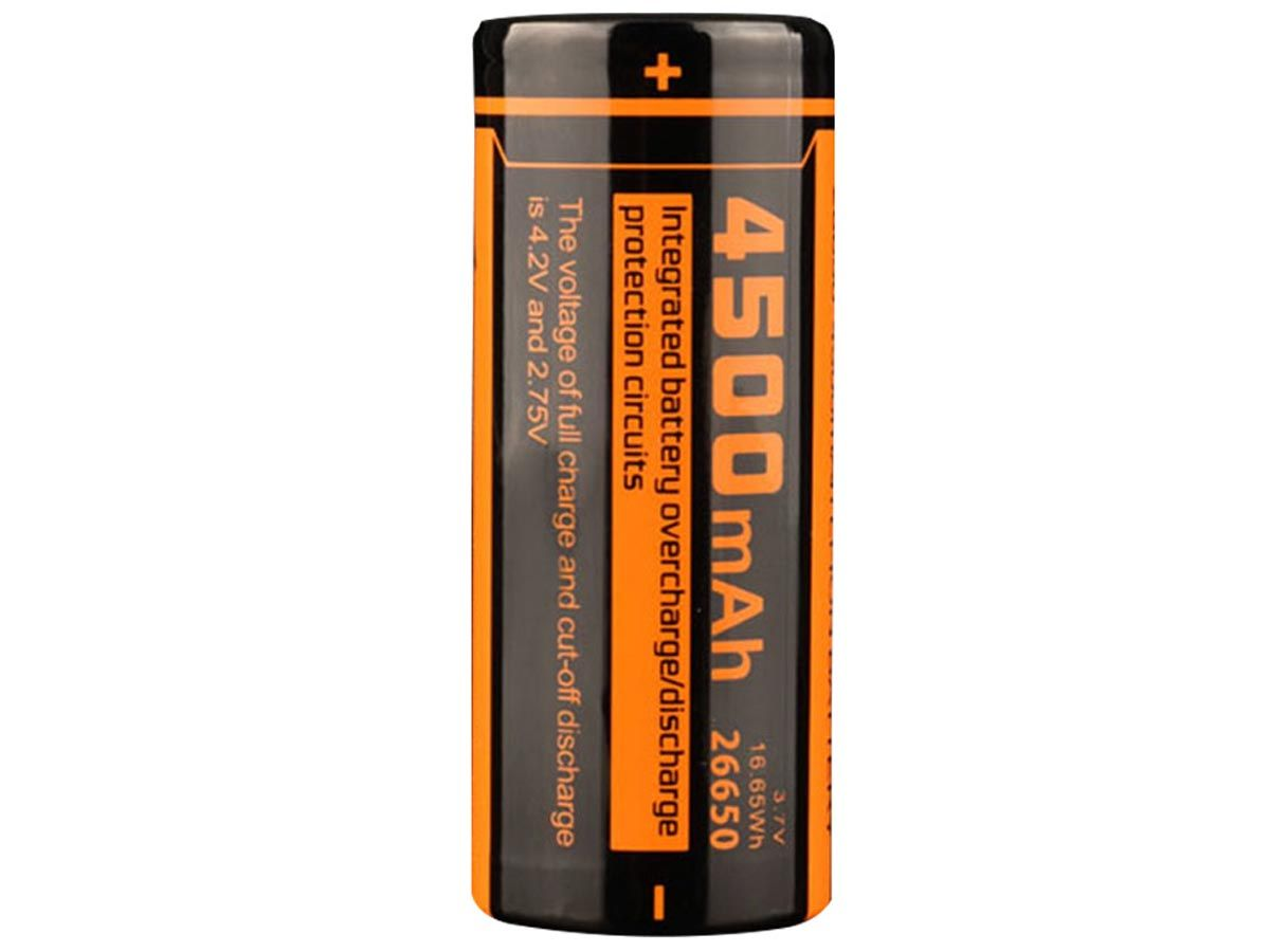 Fitorch C450 26650 Battery Vertical 3