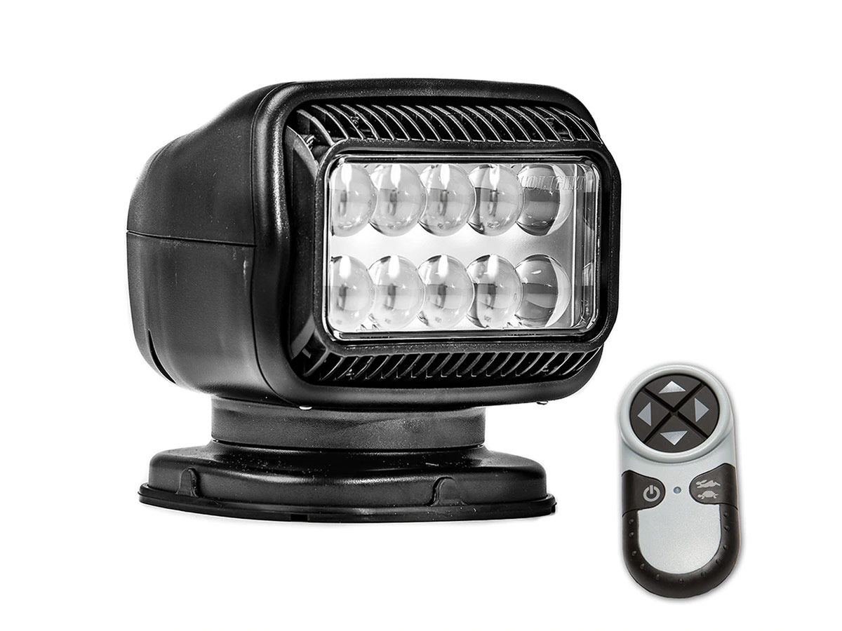 Golight Radioray light in black with remote