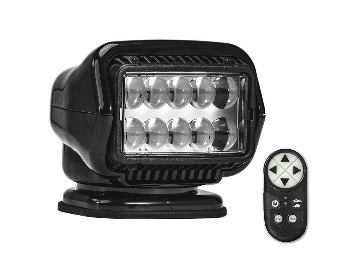 GoLight LED Stryker black with remote