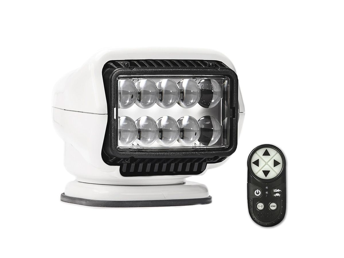 GoLight LED Stryker white with remote