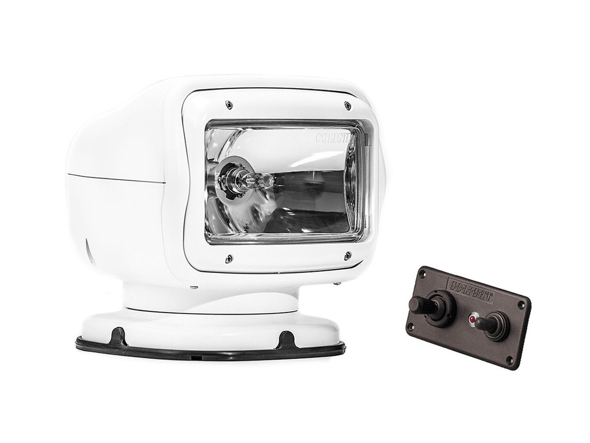 Golight in white front view