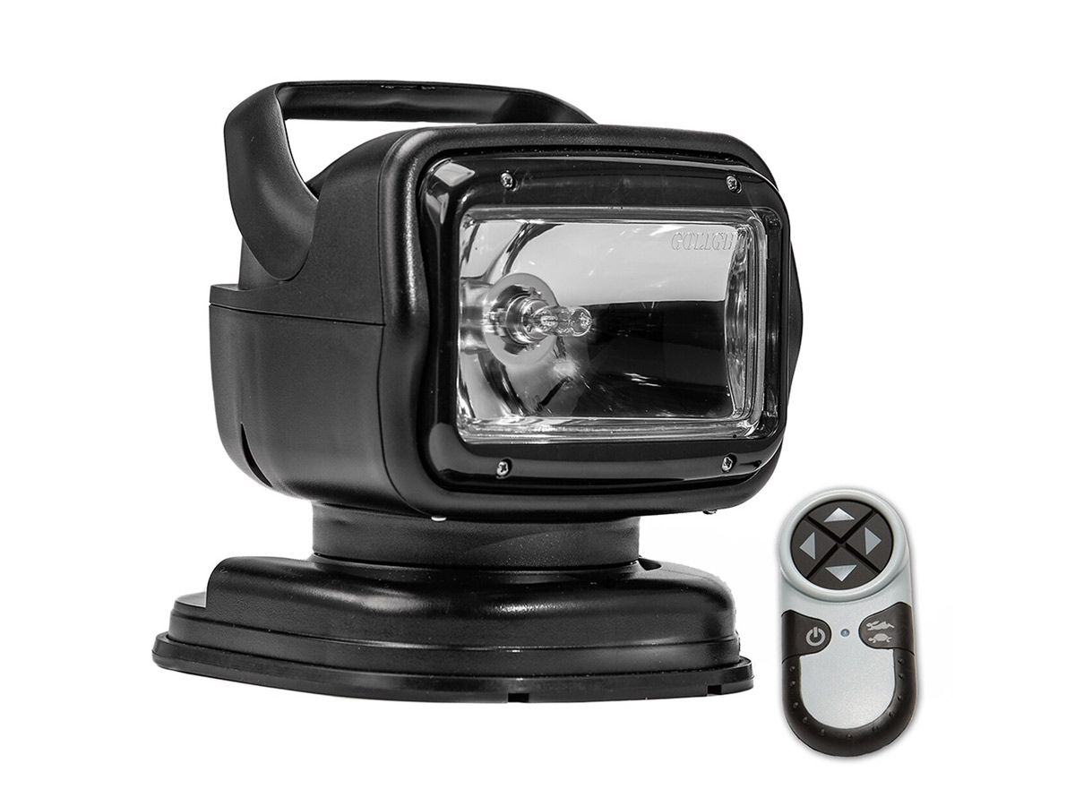 Golight Radioray light with magnetic base in black