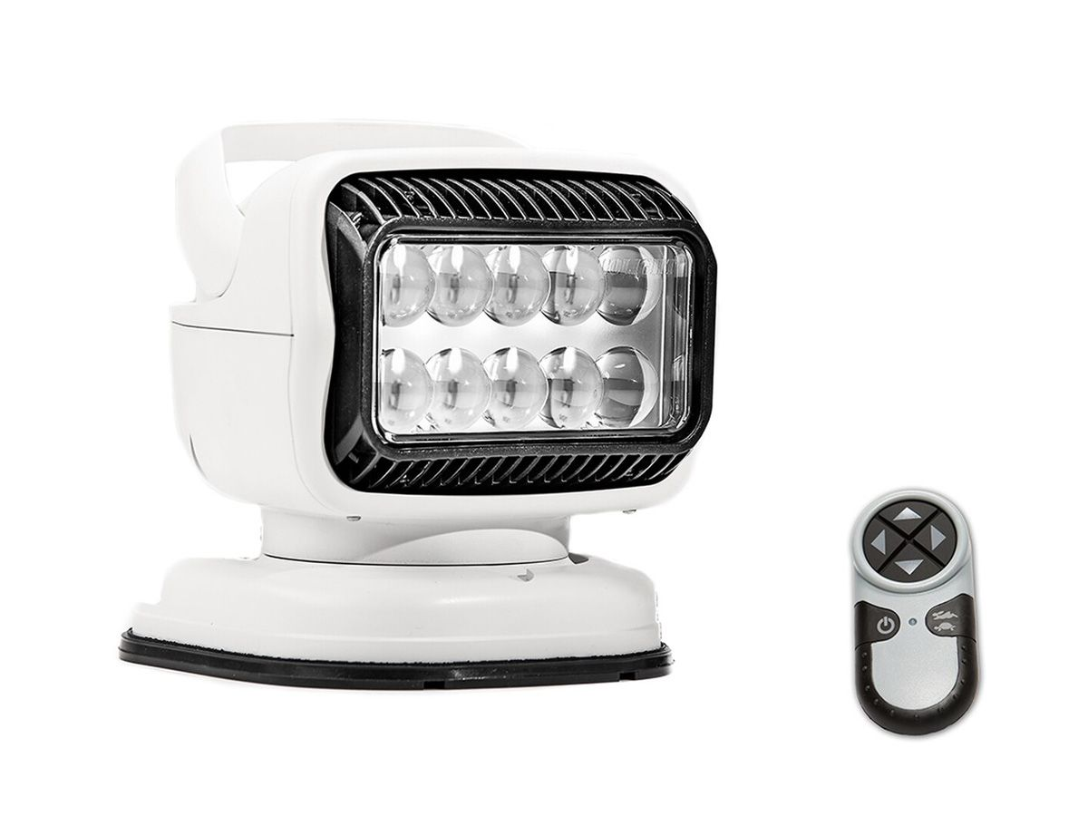 golight gt portable searchlight with remote white