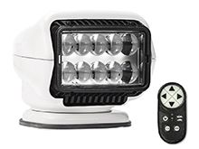 GoLight Stryker ST LED Portable Mount Spotlight with Magnetic Base and Wireless Handheld Remote - White (30005ST)