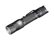 JETBeam 2MS Tactical LED Flashlight - CREE XHP35 - 2000 Lumens - Uses 1 x 21700 (included) or 1 x 18650 or 2 x CR123A