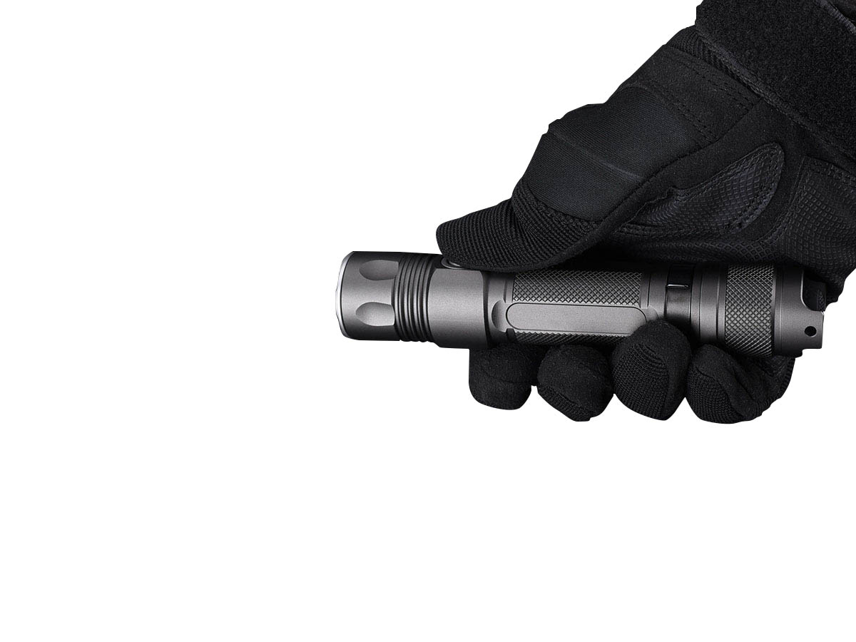 JETBeam 2MS Flashlight - Gloved Hand