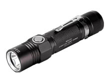 JETBeam KO-02 Rechargeable LED Flashlight - CREE XHP35 - 2000 Lumens - Uses 1 x 21700 (included) or 1 x 18650 or 2 x CR123A