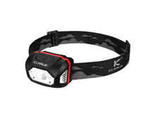 Klarus HM1 Smart-Sensing Rechargeable LED Headlamp - CREE XPG-3 - 440 Lumens - Uses Built-In 1800mAh Li-ion Battery Pack
