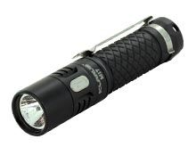 Klarus Mi7 Mini-Might EDC Flashlight - CREE XP-L HI V3 LED - 700 Lumens - Uses 1 x AA (Included) or 1 x 14500 - Black