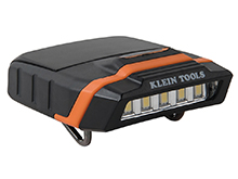 Klein Tools Cap LED Visor Light - 125 Lumens - Includes 2 x AAA (56402)
