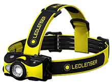 Ledlenser 502023 iH9R Rechargeable LED Headlamp - 600 Lumens - Includes Li-Ion Battery Pack