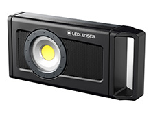 Ledlenser 502172 iF4R Rechargeable Work Light and Bluetooth Speaker - 2500 Lumens - Includes Built-In Li-Ion battery Pack