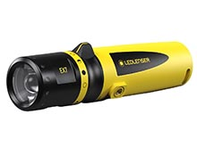 Ledlenser 880429 EX7 Intrinsically Safe LED Flashlight - 200 Lumens - Includes 3 x AA