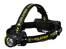Ledlenser 880511 H7R Work Rechargeable LED Headlamp - 1000 Lumens - Includes Built-In Li-Ion Battery Pack